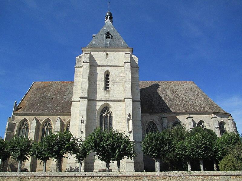 Photo du Monument Historique Eglise Saint-Pierre situé à Courville-sur-Eure