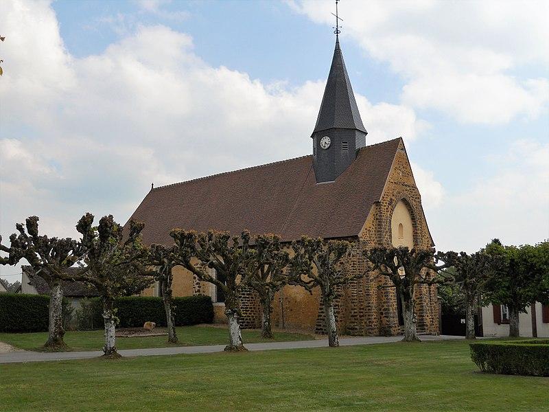 Photo du Monument Historique Eglise Saint-Martin situé à La Croix-du-Perche
