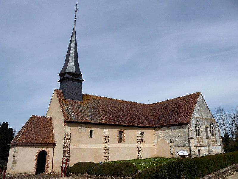 Photo du Monument Historique Eglise Saint-Pierre situé à Dampierre-sur-Avre