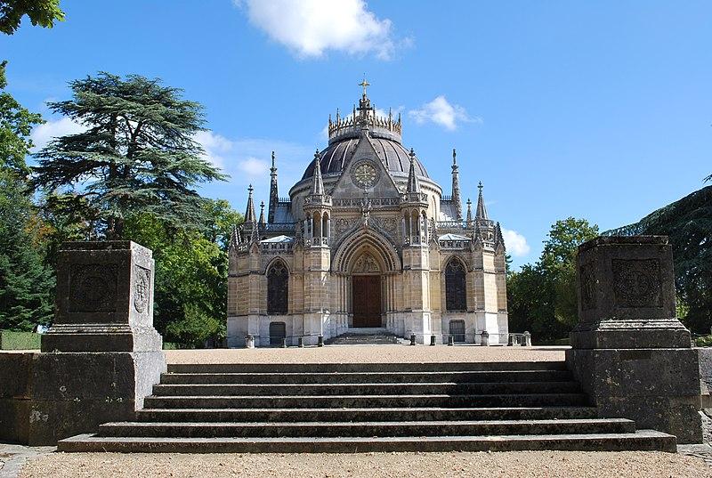 Photo du Monument Historique Domaine de la chapelle royale Saint-Louis situé à Dreux