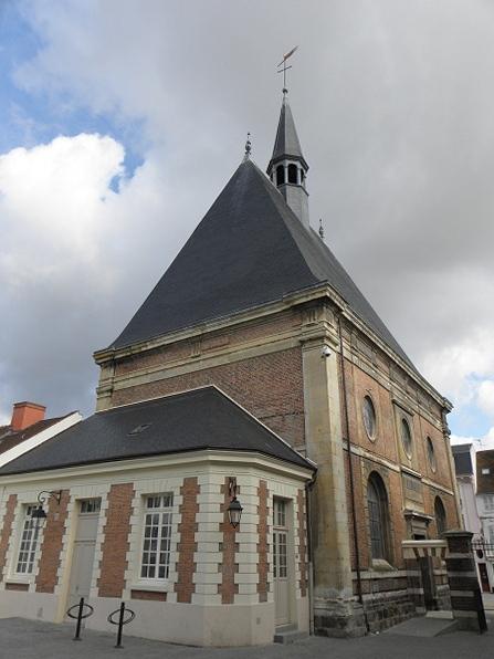 Photo du Monument Historique Ancien Hôtel-Dieu de Dreux situé à Dreux