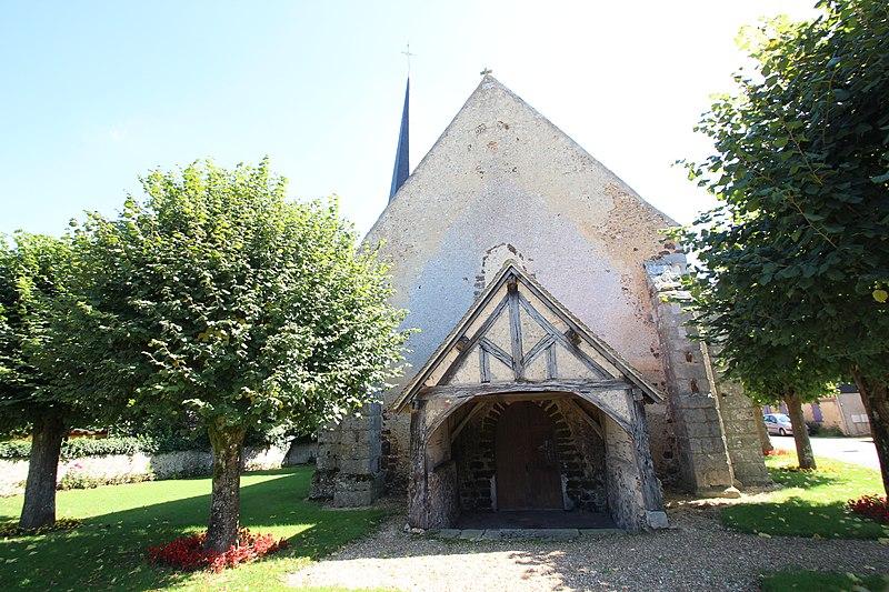 Photo du Monument Historique Eglise Saint-Aignan situé à Fontaine-les-Ribouts