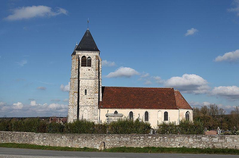 Photo du Monument Historique Eglise Saint-Germain situé à Hanches