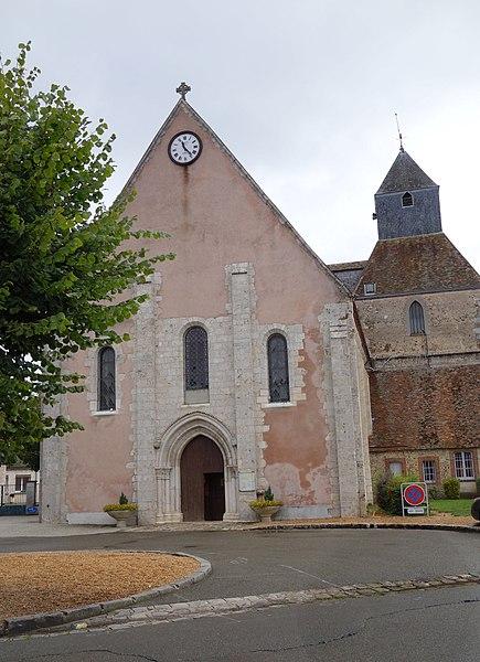 Photo du Monument Historique Eglise Saint-Cyr et Sainte-Julitte situé à Jouy