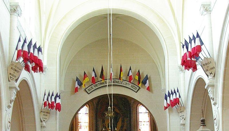 Photo du Monument Historique Eglise Saint-Lucain situé à Loigny-la-Bataille