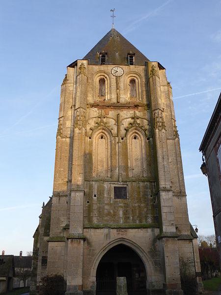 Photo du Monument Historique Eglise Saint-Pierre de Blévy situé à Maillebois