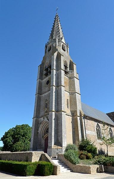 Photo du Monument Historique Eglise Saint-Pierre situé à Marboué
