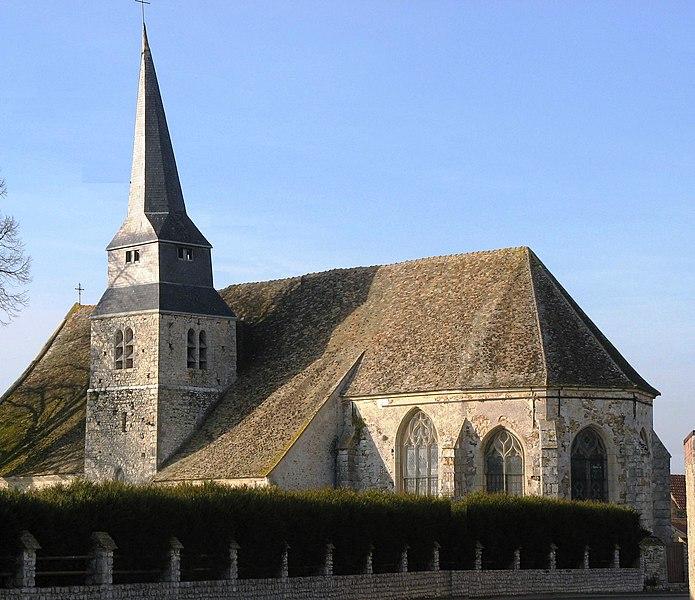 Photo du Monument Historique Eglise Saint-Nicolas situé à Mesnil-Simon (Le)