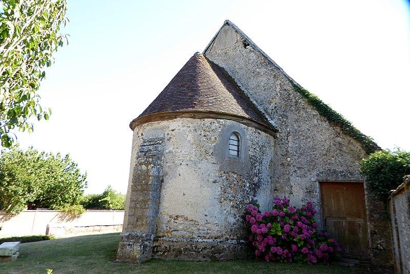 Photo du Monument Historique Chapelle dite des Trois-Maries situé à Mignières