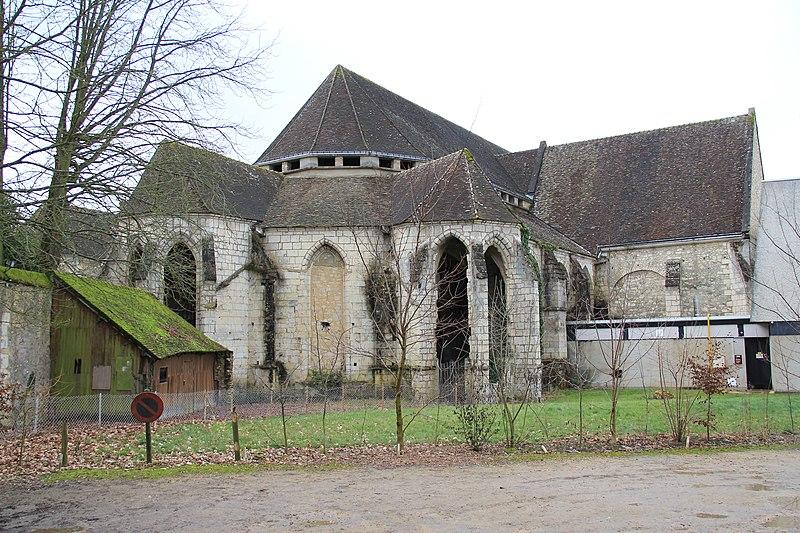 Photo du Monument Historique Ancienne abbaye Saint-Denis situé à Nogent-le-Rotrou