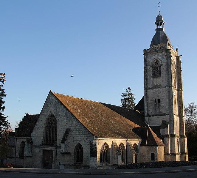 Photo du Monument Historique Eglise Saint-Hilaire situé à Nogent-le-Rotrou
