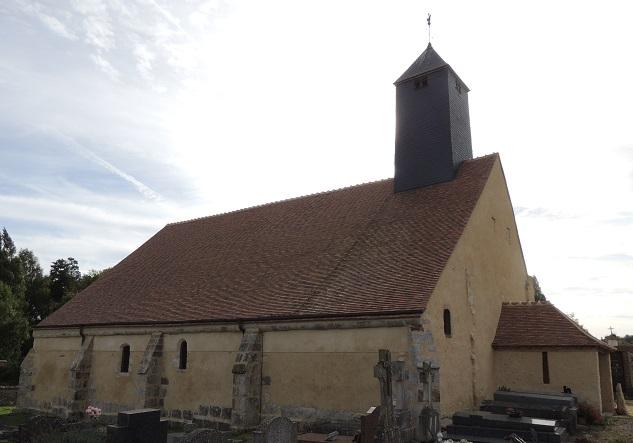 Photo du Monument Historique Chapelle Saint-Sulpice situé à Saint-Lubin-de-la-Haye
