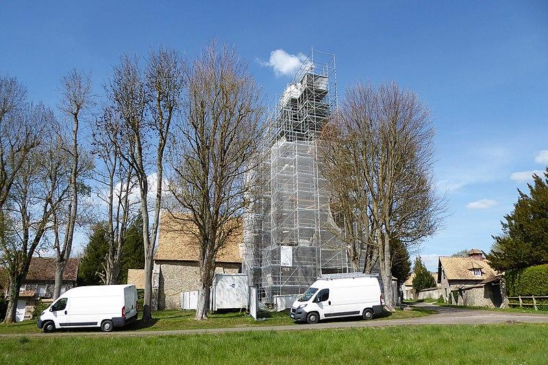 Photo du Monument Historique Eglise Saint-Ouen situé à Saint-Ouen-Marchefroy