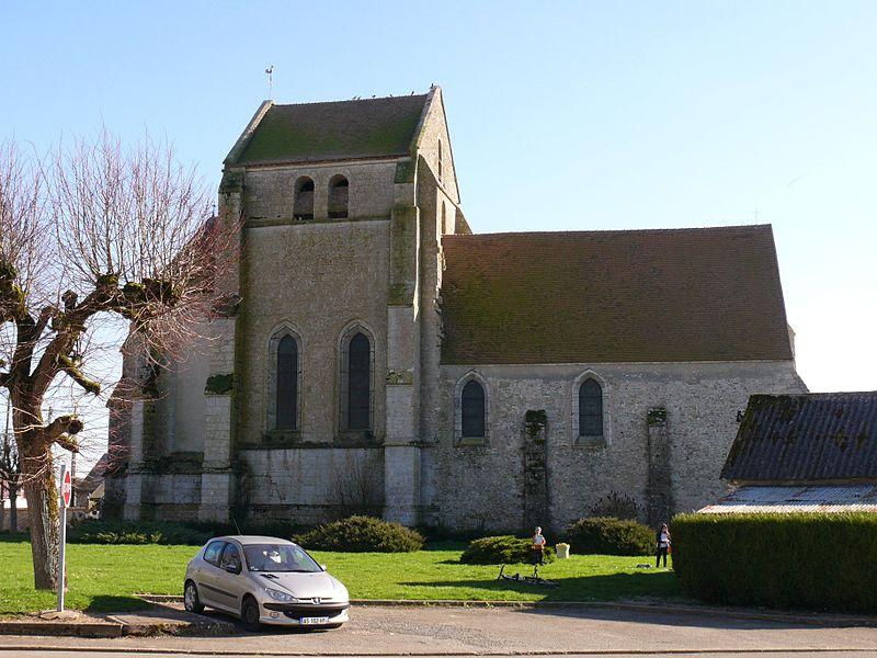 Photo du Monument Historique Eglise Saint-Georges et Saint-Gilles situé à Santeuil