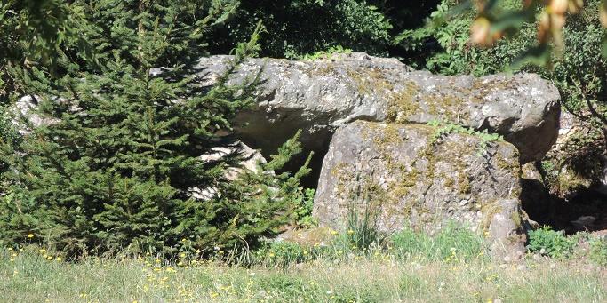 Photo du Monument Historique Dolmen et polissoir situé à Sorel-Moussel