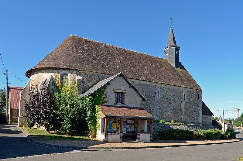 Photo du Monument Historique Eglise Saint-Martin situé à Trizay-lès-Bonneval