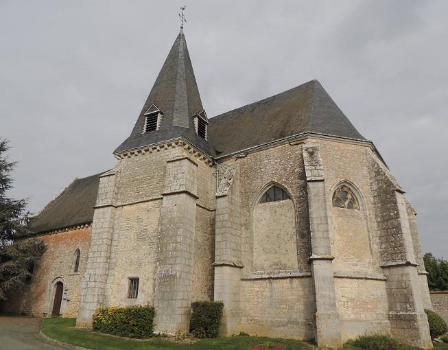 Photo du Monument Historique Eglise Saint-Jean situé à Villeau