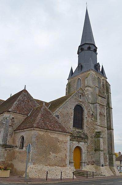Photo du Monument Historique Eglise Notre-Dame situé à Yèvres
