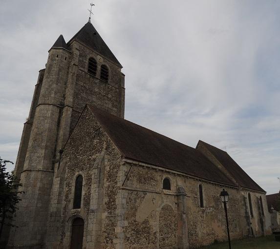 Photo du Monument Historique Eglise Saint-Georges situé à Ymeray