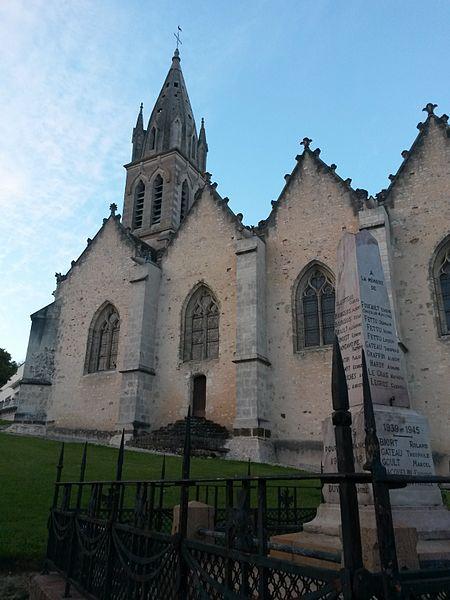 Photo du Monument Historique Eglise paroissiale Saint-Victor situé à Saint-Victor-de-Buthon