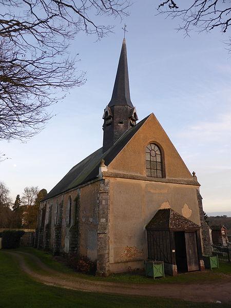 Photo du Monument Historique Eglise paroissiale Saint-Eloi-Saint-Jean-Baptiste situé à Crécy-Couvé