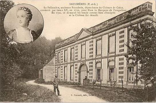Photo du Monument Historique Moulin de la Bellassière situé à Crécy-Couvé
