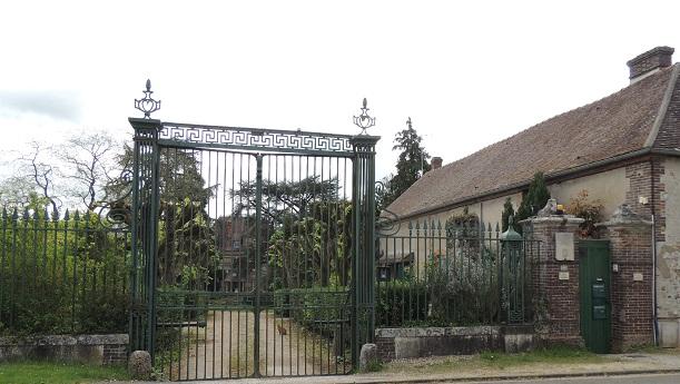 Photo du Monument Historique Propriété dite la Terrasse situé à Crécy-Couvé
