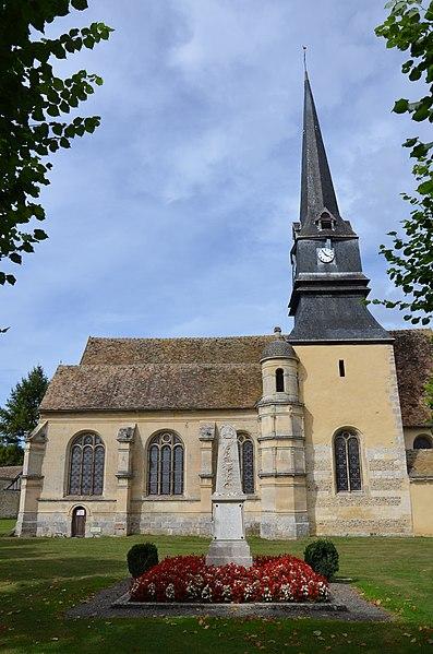 Photo du Monument Historique Eglise Saint-Martin situé à Rouvres