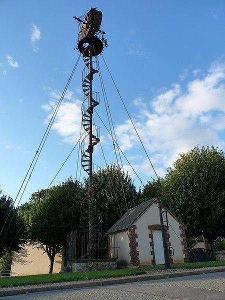 Photo du Monument Historique Eolienne situé à Nogent-le-Phaye