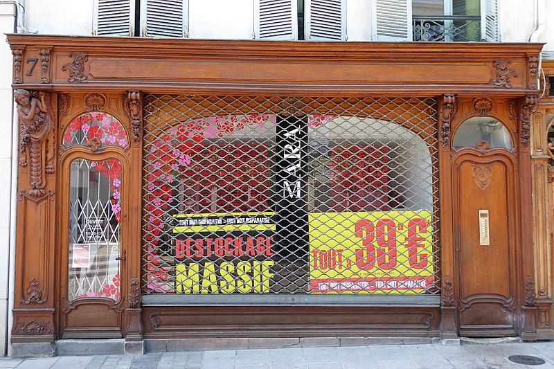 Photo du Monument Historique Anciennes imprimeries Lefèbvre et ancienne librairie Broult-Dividis situé à Dreux