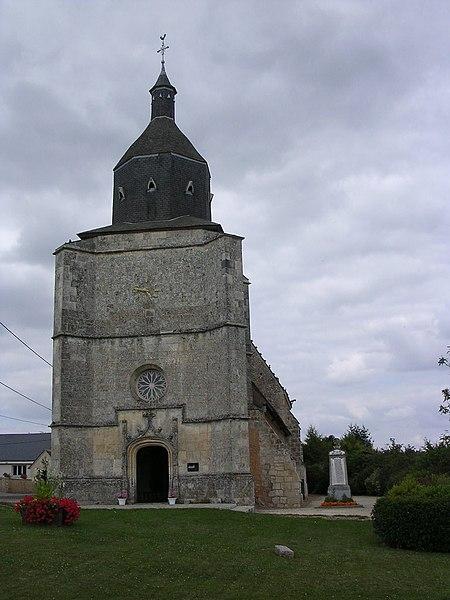 Photo du Monument Historique Eglise Notre-Dame situé à Les Etilleux