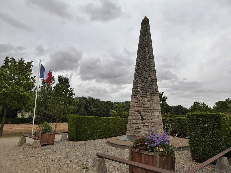 Photo du Monument Historique Ancien camp d'internement de Voves situé à Voves