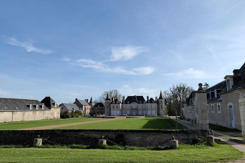 Photo du Monument Historique Château de Cambray situé à Germignonville