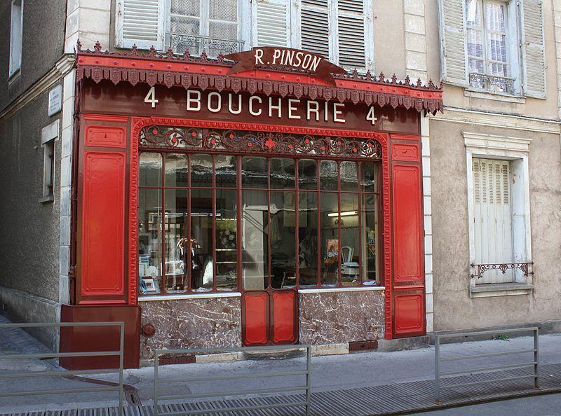 Photo du Monument Historique Boucherie Pinson situé à Chartres