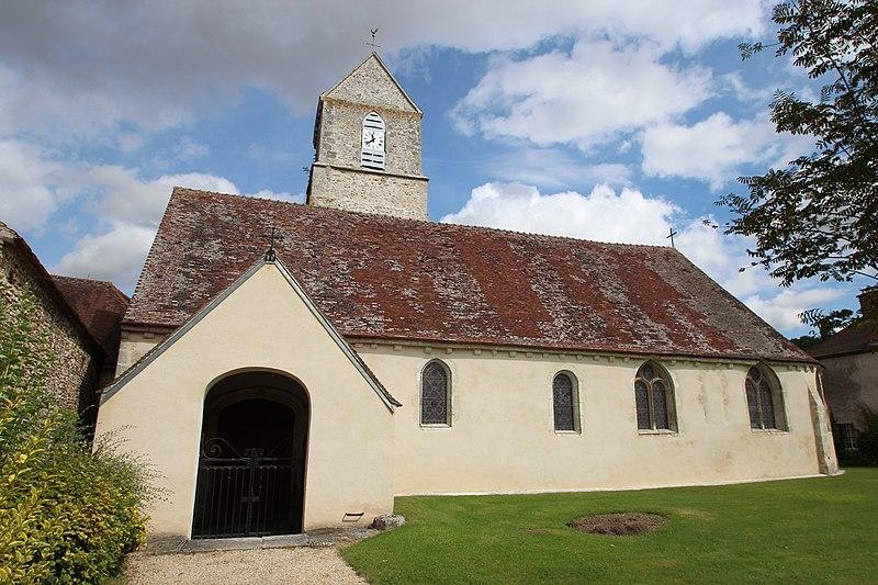 Photo du Monument Historique Eglise Saint-Martin situé à Bleury