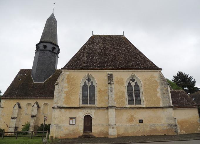 Photo du Monument Historique Eglise Saint-Thomas situé à Soizé