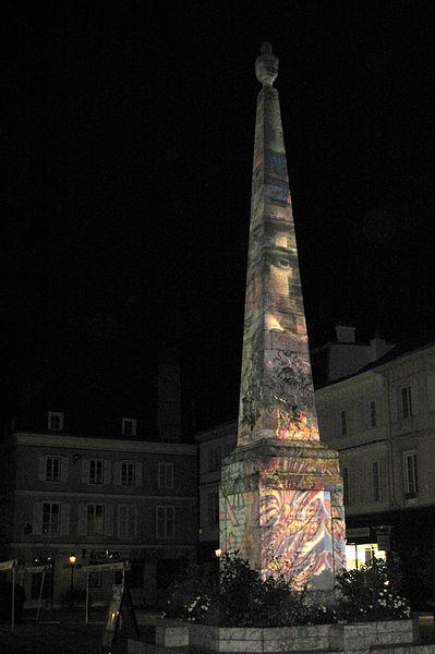Photo du Monument Historique Monument à Marceau dit «Colonne Marceau» situé à Chartres