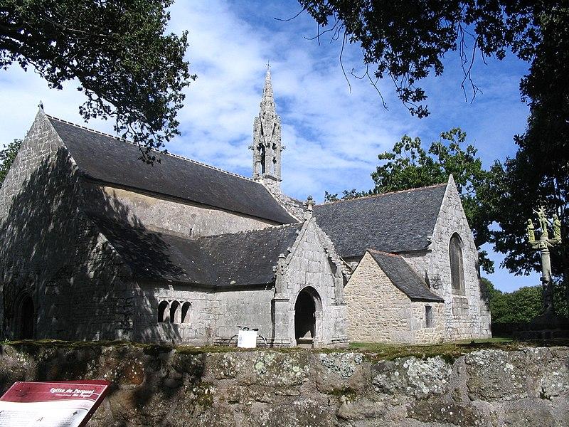 Photo du Monument Historique Chapelle de Perguet situé à Bénodet