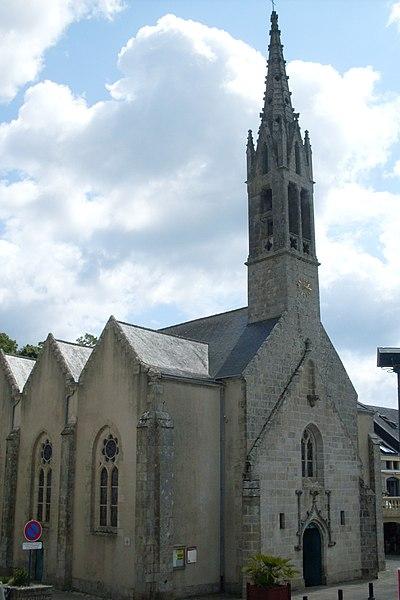 Photo du Monument Historique Eglise, dite église du Port ou église Saint-Thomas situé à Bénodet
