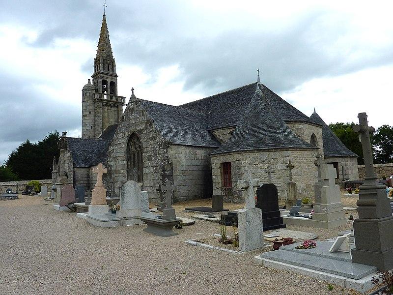 Photo du Monument Historique Eglise Saint-Pierre situé à Berrien