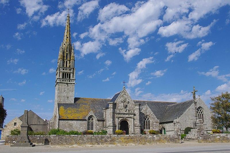 Photo du Monument Historique Eglise Notre-Dame de la Clarté et Saint-Budoc situé à Beuzec-Cap-Sizun