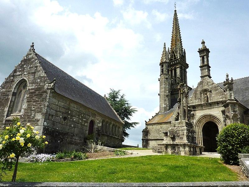 Photo du Monument Historique Eglise Notre-Dame et Saint-Tugen situé à Brasparts