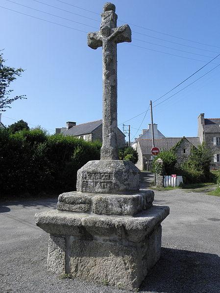 Photo du Monument Historique Calvaire de Pont-ar-Crorz, ou de Pont ar Groas situé à Brignogan-Plage