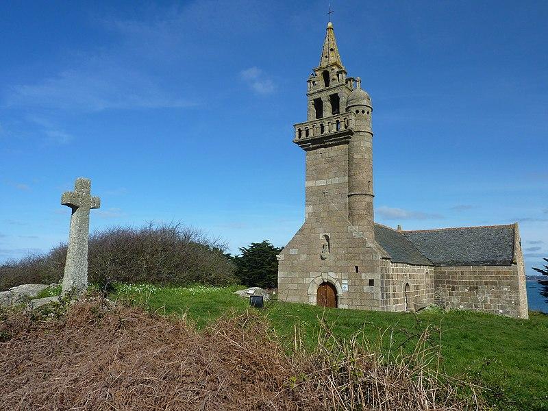 Photo du Monument Historique Chapelle Notre-Dame de l'Ile Callot situé à Carantec