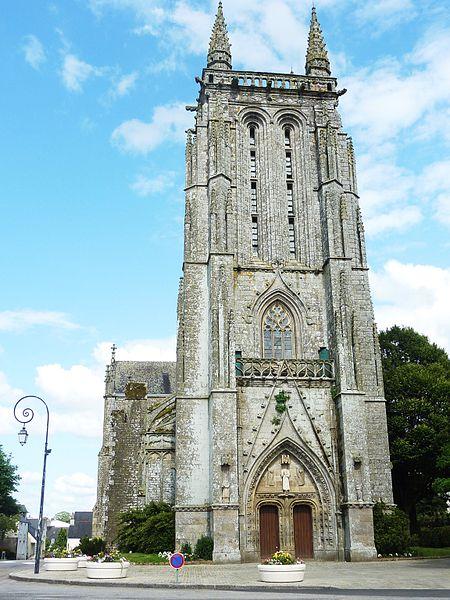 Photo du Monument Historique Ancienne église de Saint-Tremeur situé à Carhaix-Plouguer