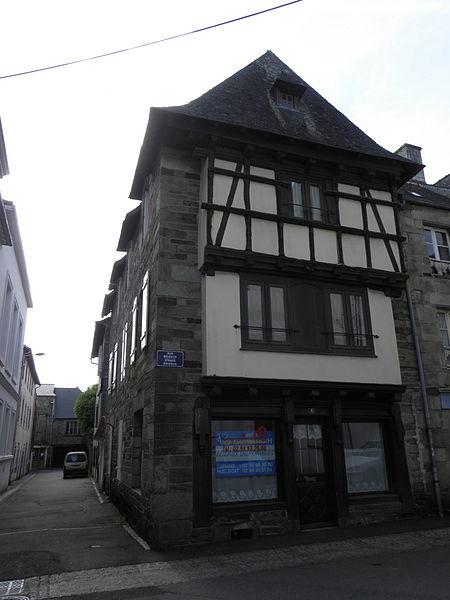 Photo du Monument Historique Maison situé à Carhaix-Plouguer