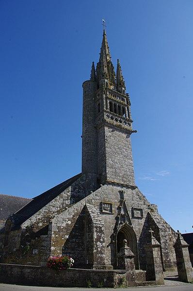 Photo du Monument Historique Eglise Saint-Clet situé à Cléden-Cap-Sizun