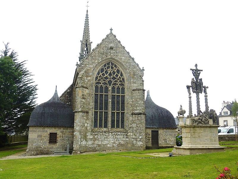 Photo du Monument Historique Eglise Notre-Dame de l'Assomption situé à Cléden-Poher