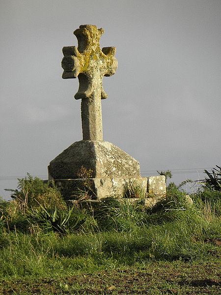Photo du Monument Historique Croix de Langoziliz situé à Cléder