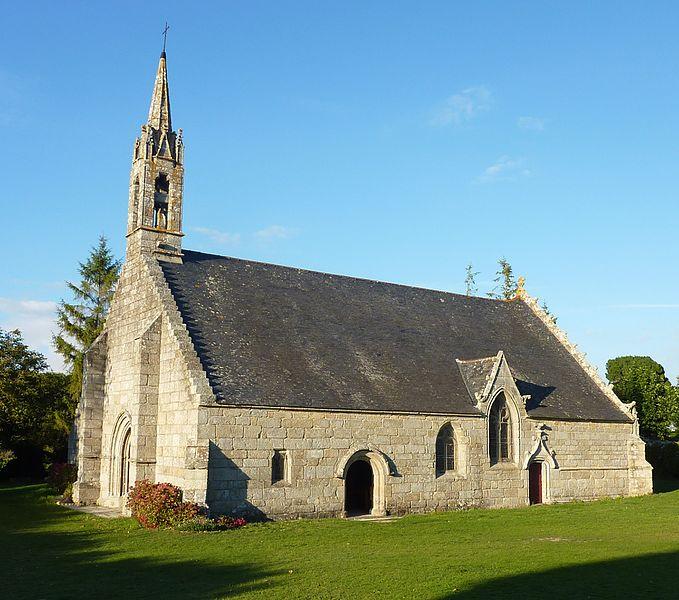 Photo du Monument Historique Chapelle Saint-Maudet situé à Clohars-Carnoët